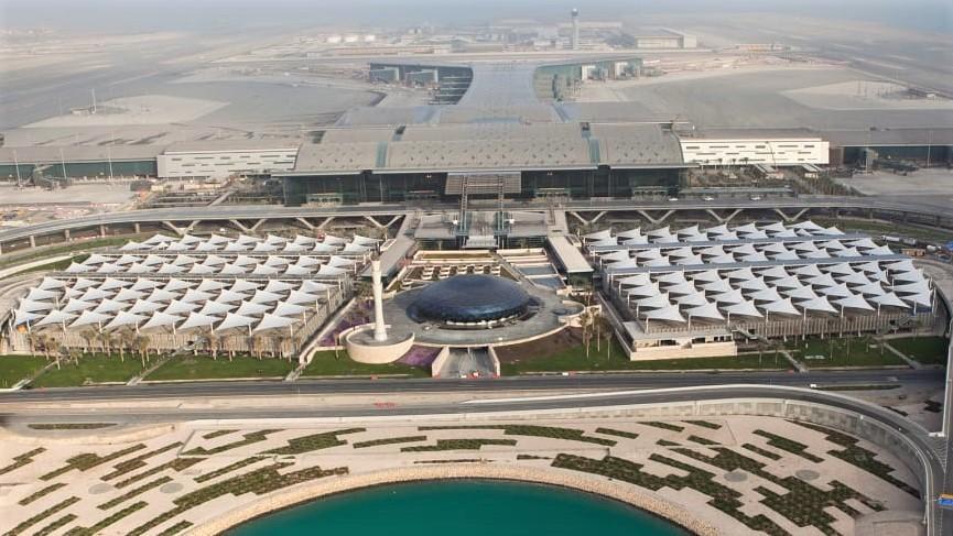 Hamad airport-Qatar