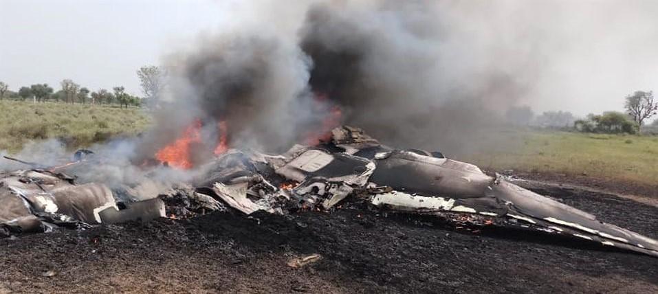 India's Mig-27 crash