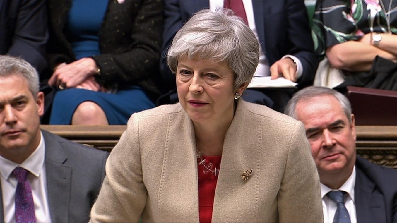 Theresa May-Brexit