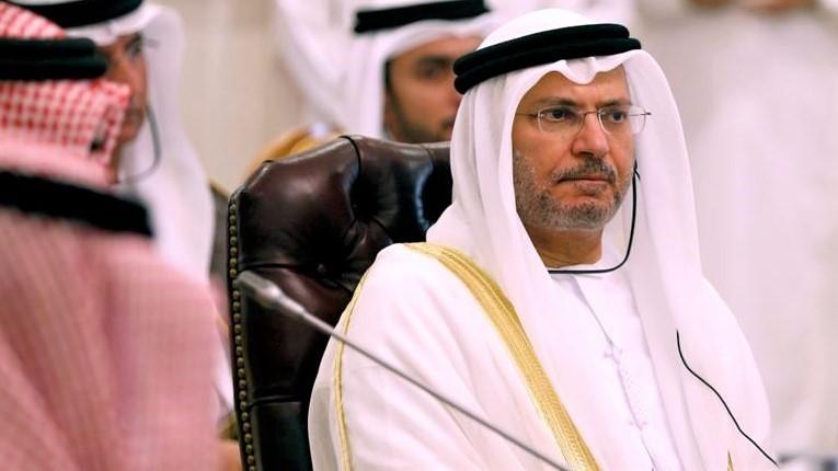 UAE's Anwar Gargash