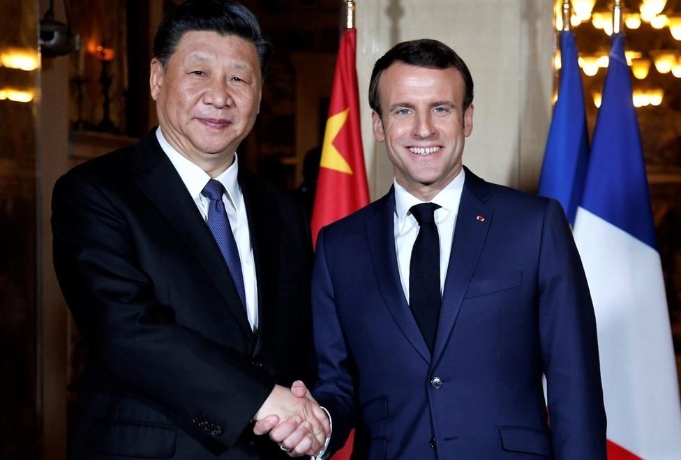 Xi Jinping-Macron