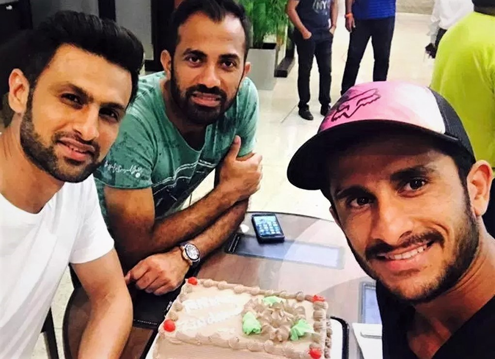 Cricketer Hassan Ali