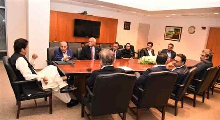 Imran-US businessmen