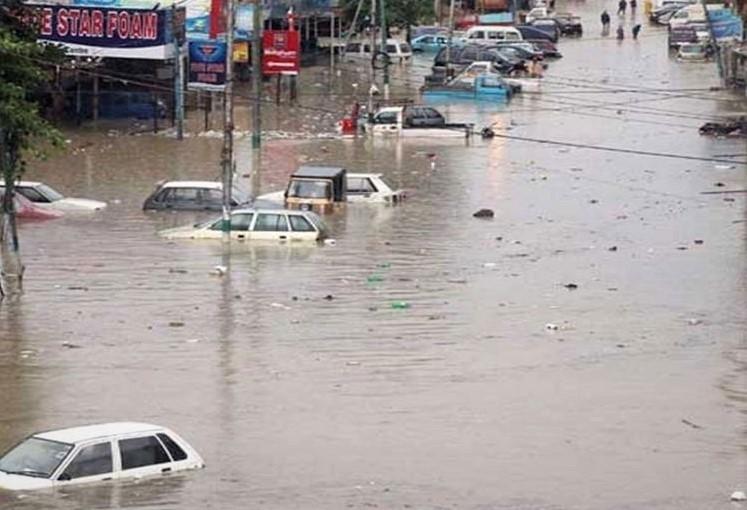 Karachi-rain devastation