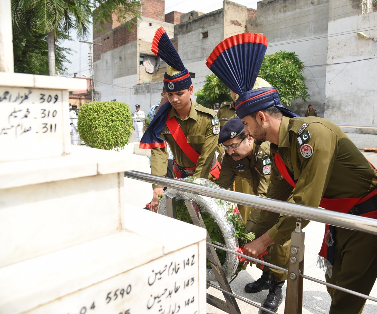 Police martyrs day 1