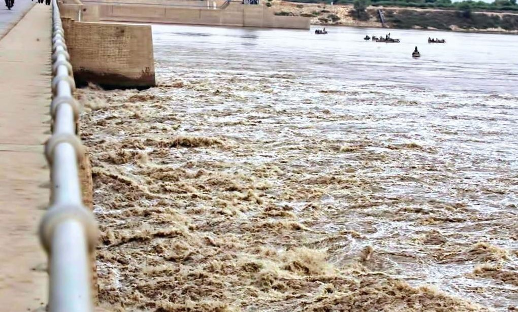 River Sutlej-flood