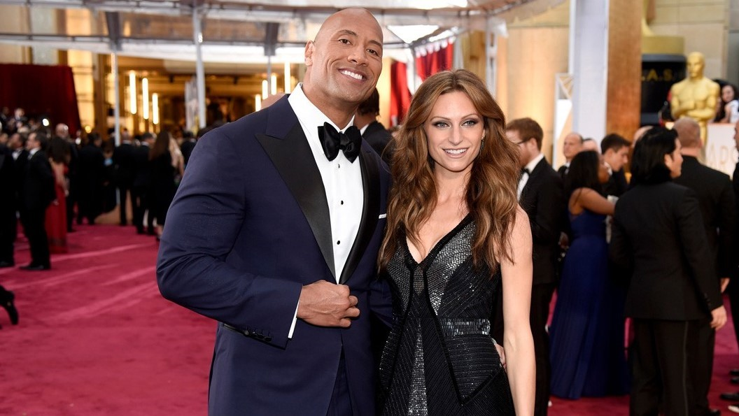 The Rock marriage 1