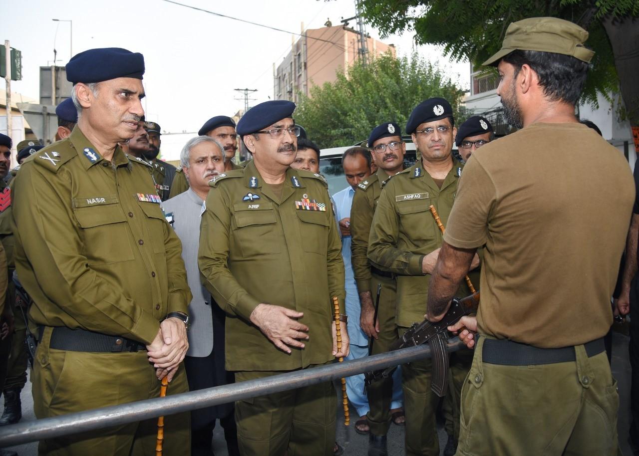 IGP-Moharram security