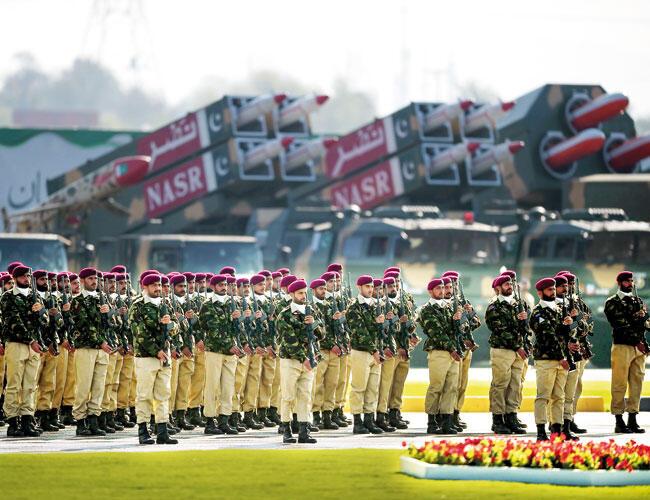 Pak military