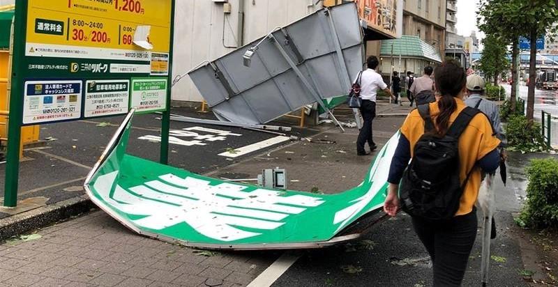 Typhoon Faxai-Japan