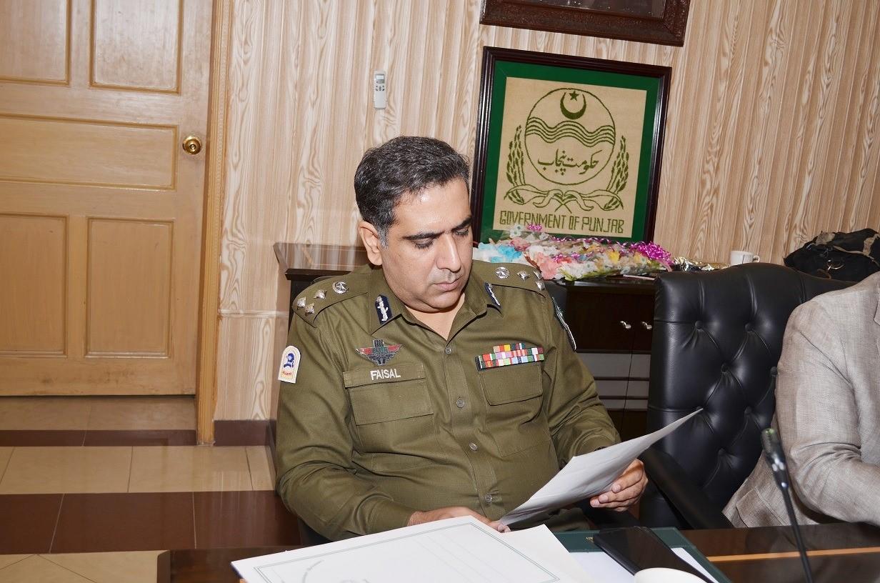 DIG Faisal Rana