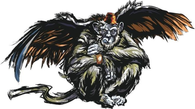 Google-Winged monkey