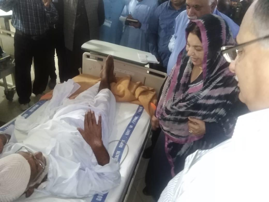Health Minister-Wazirabad 1