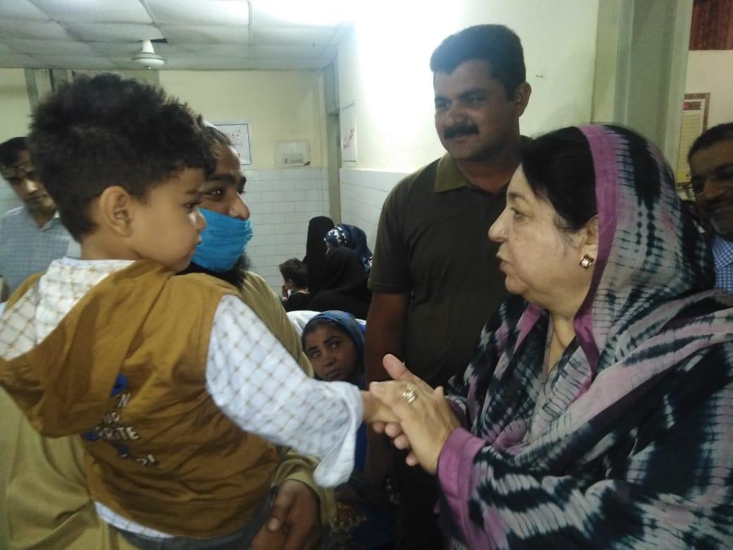 Health Minister-Wazirabad