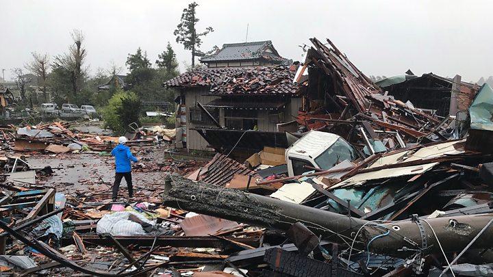 Japan-typhoon 1