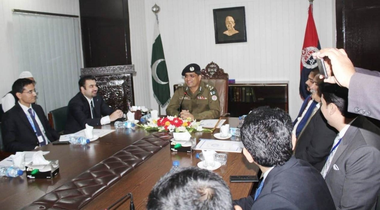 Lahore police-MCMC delegation