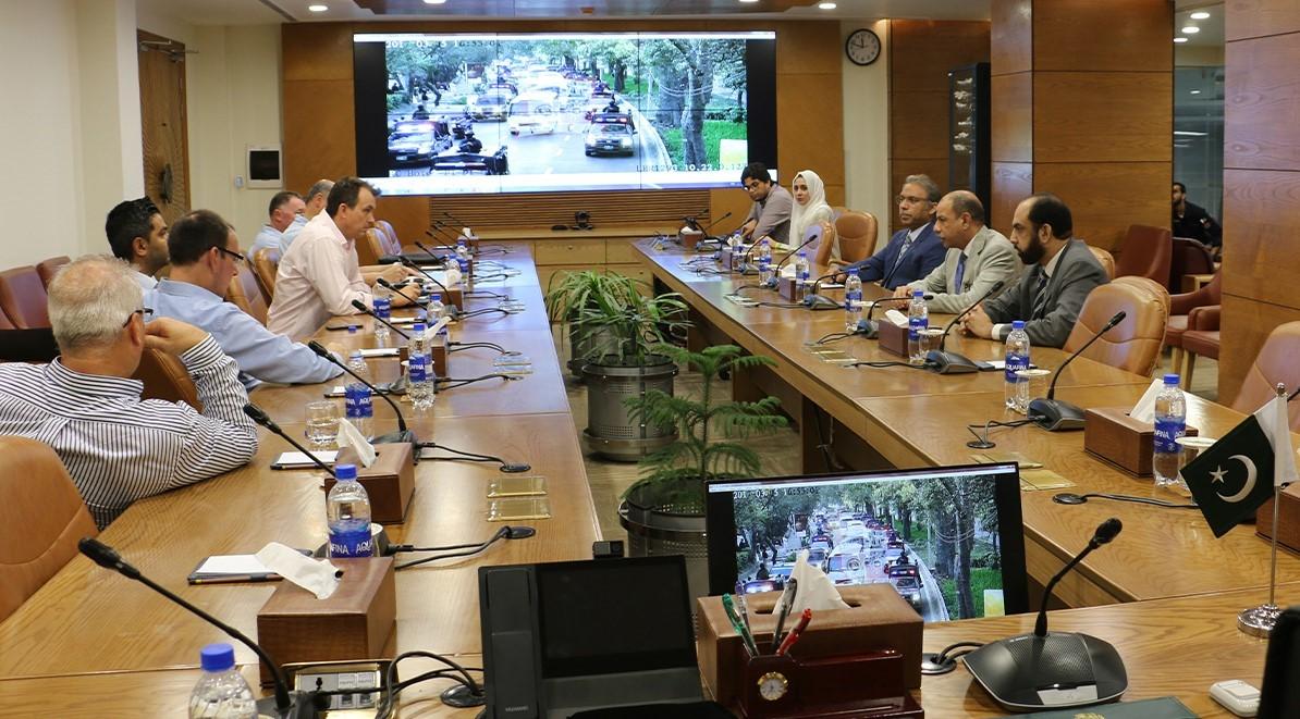 PSCA-England delegation