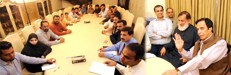 Parvez Elahi- Doctors delegation