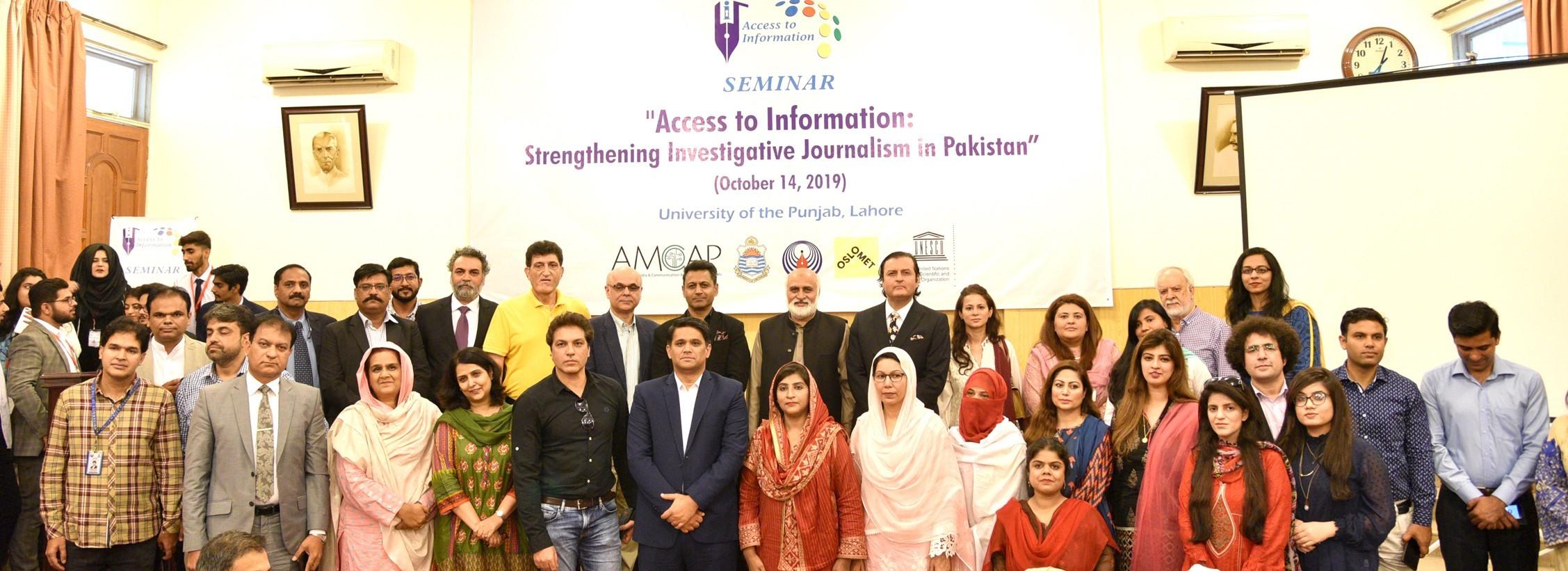 Seminar on RIT Act-investigative journalism