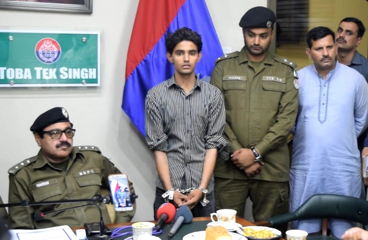 TT Singh-child recovered