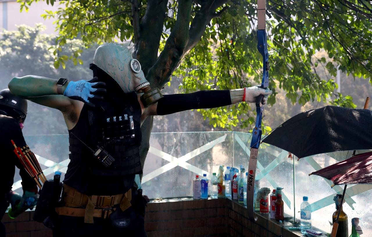 HK-arrows fired