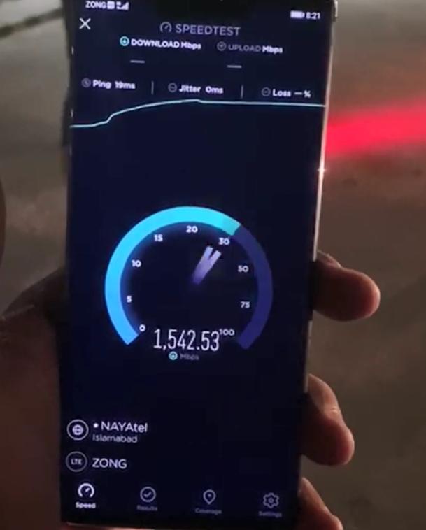 Zong 5G video call