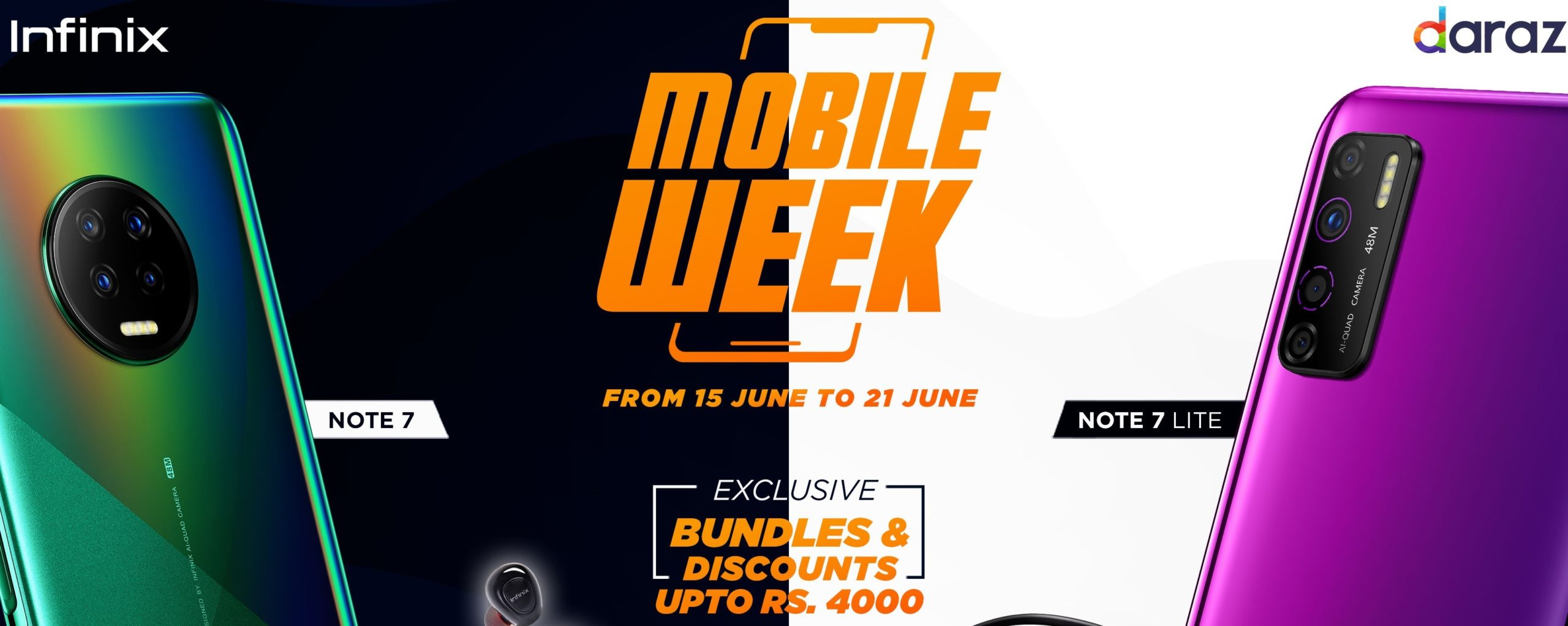 Infinix-Daraz Mobile Week