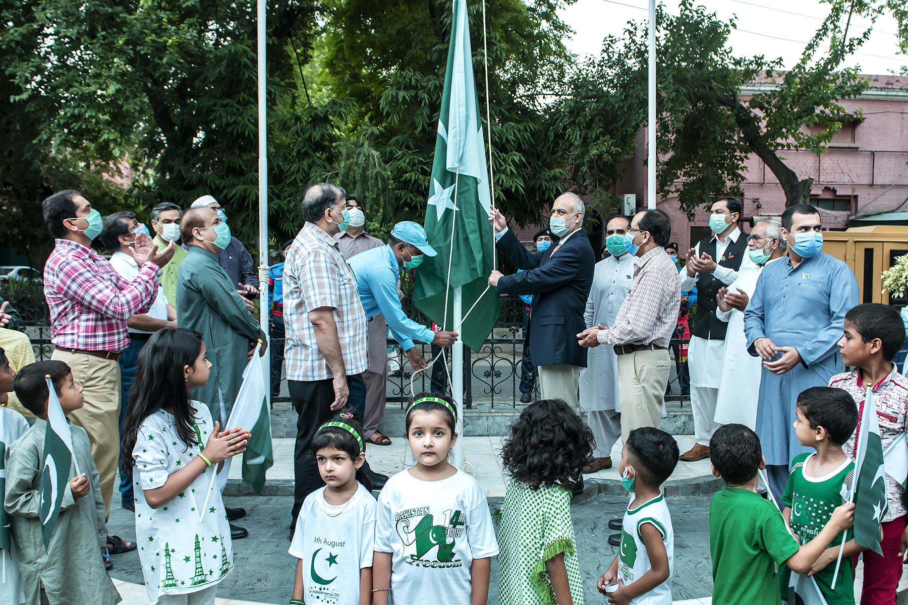 Flag Hoisting ceremony 1