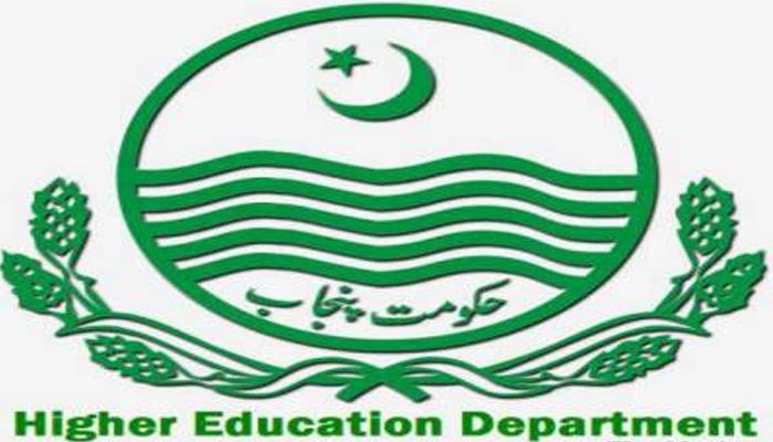 Higher Education Dept Punjab
