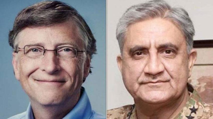 Qamar Bajwa-Bill Gates