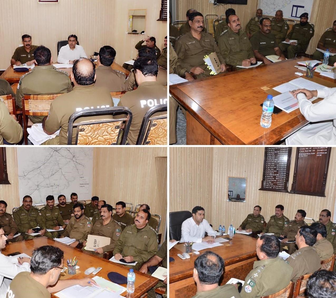 Fsd police-crime meeting