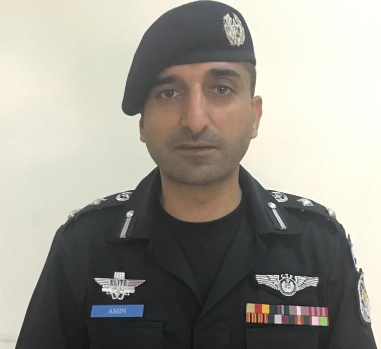 SSP Syed Amin Bokhari