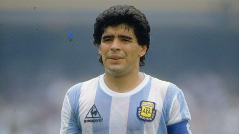 Diego Maradona-Argentina