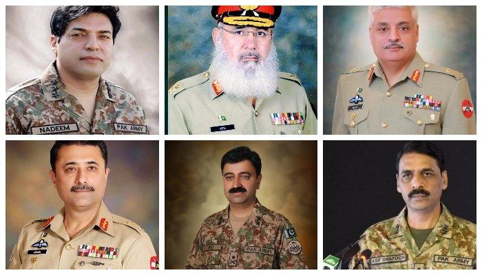 Lieutenant Generals