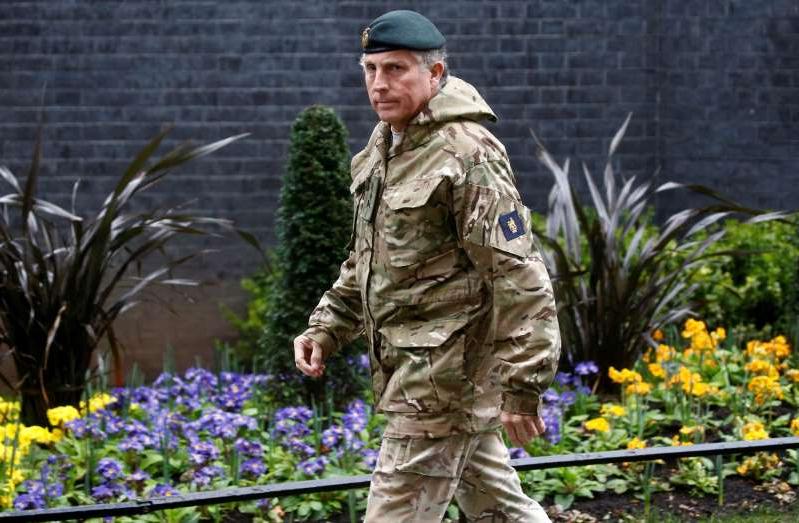UK military chief