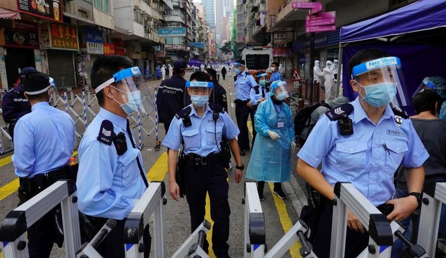 Hong Kong lockdown