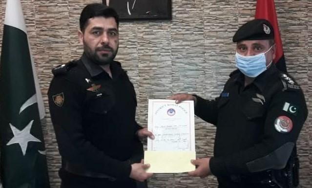 SP Ikram Ullah-Kohat police