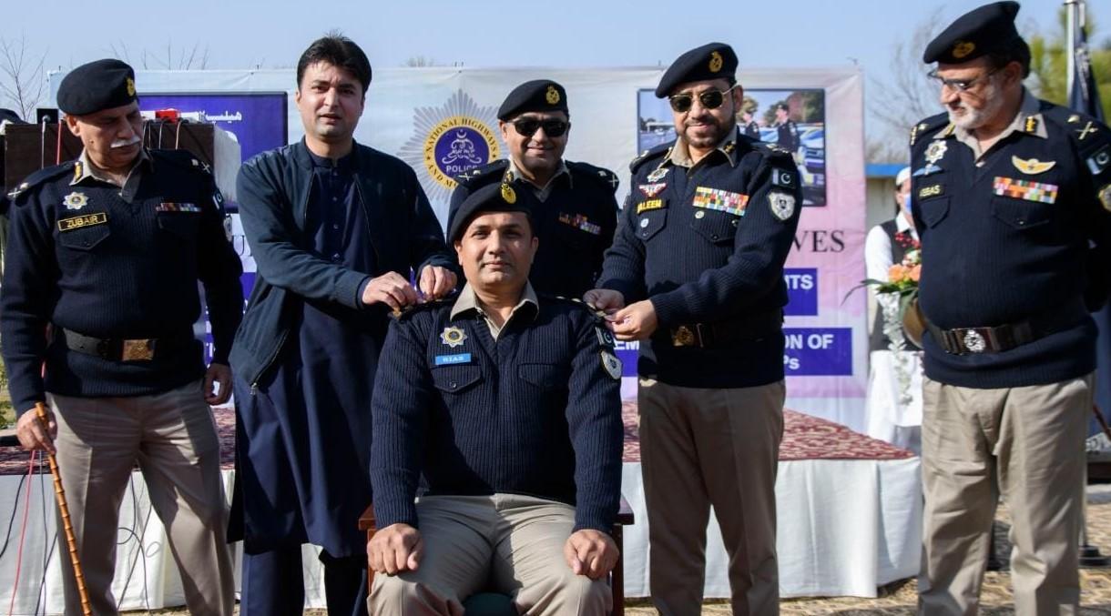 NHMP CPO Riaz Khan