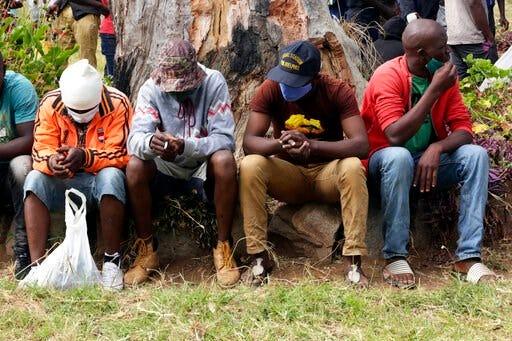 Zimbabwe inmates