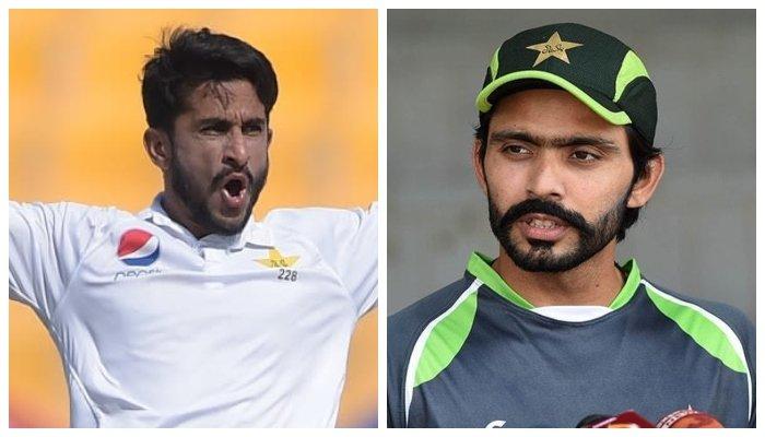 Hasan Ali and Fawad Alam