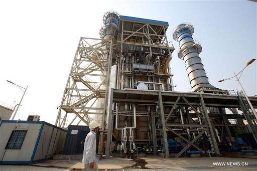 Myanmar gas power plant
