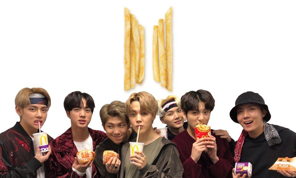 McDonald's BTS meals